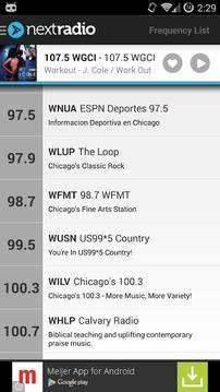 NextRadio Free Live FM Radio截图