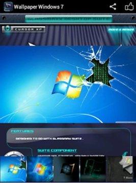 Wallpaper Windows 7截图
