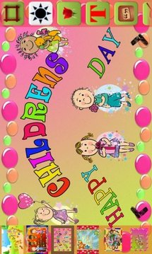 Children day Greetings截图