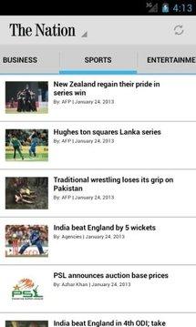 The Nation Pakistan截图