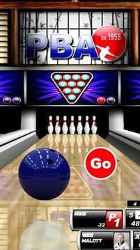 Bowling Alley Game截图