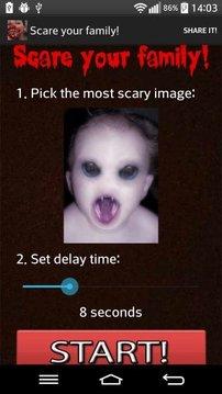 吓到你的家人 !截图