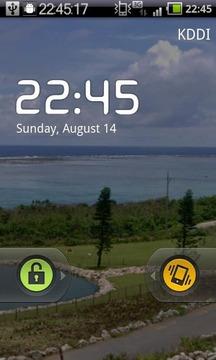 时钟屏幕上截图