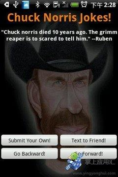 Chuck Norris笑话截图