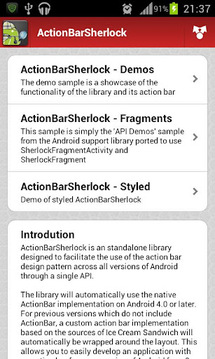 Android UI Patterns截图