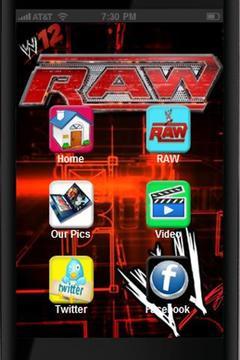WWE RAW截图