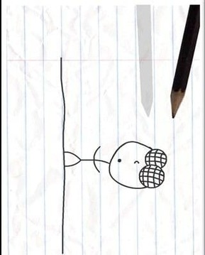 铅笔涂鸦截图