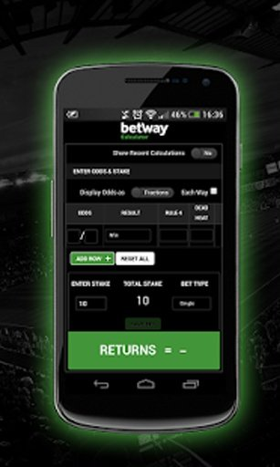 betway sports results