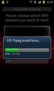 黑客 Wifi 网络截图