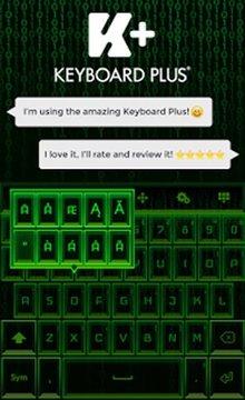 键盘黑客截图