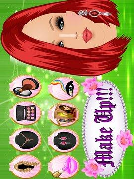女孩派对装扮 - 化妆截图