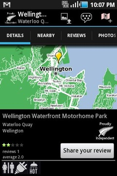 新西兰旅游地图/图集截图