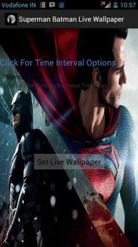 Batman Superman Live Wallpaper