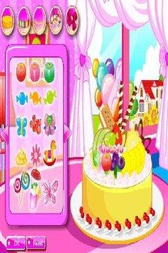 生日蛋糕截图