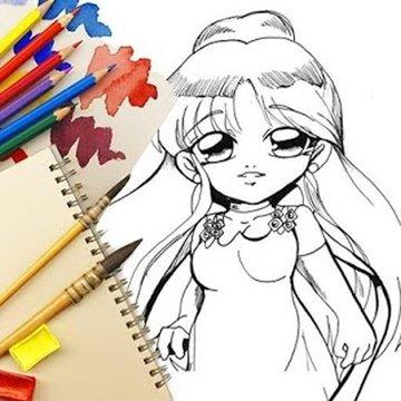 Coloring pages: Princess Paint截图