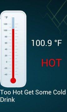 指纹体温截图