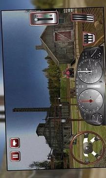 3D农用拖拉机模拟器游戏截图