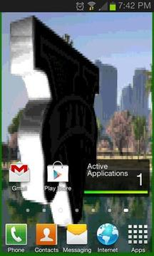 GTA V Logo Spin Live Wallpaper截图
