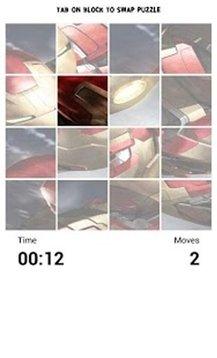 Iron Man Puzzle Game截图