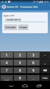 Detran-PB Mobile截图