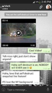 Telegram X截图