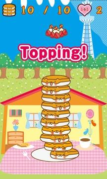 可爱的煎饼热火腿塔截图