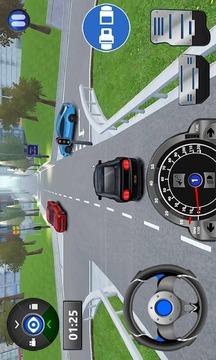 驾校的3D公路路截图