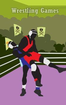 摔跤游戏截图