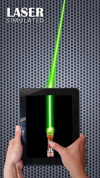 激光笔模拟截图