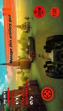 Russian Artillery Simulator 3D截图
