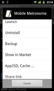 App管理器截图