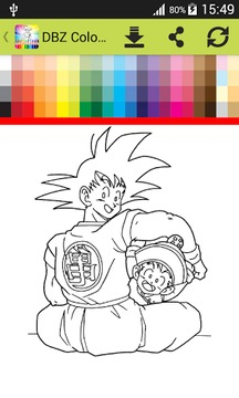 Coloring Book DBZ截图