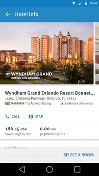 Wyndham Rewards截图