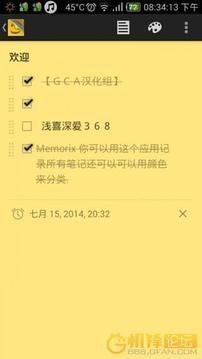 Memorix笔记(汉化版)截图