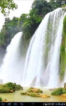 瀑布视频动态壁纸截图