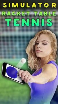 模拟器球拍乒乓球截图