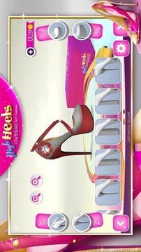 高跟鞋鞋 女孩游戏截图