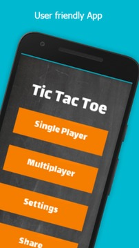 Tic Tac Toe 2 Player截图