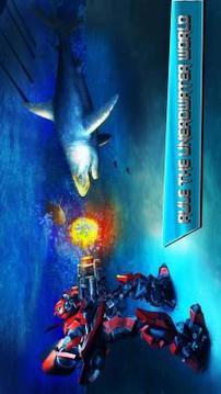 机器人汽车愤怒的鲨鱼猎人截图