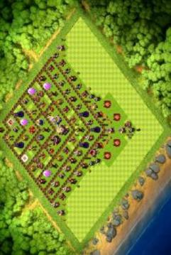 Maps Of Clash of Clans 2017截图
