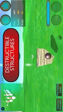 大炮保龄球3D截图