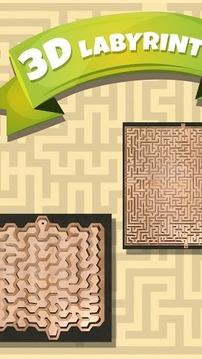 3D经典迷宫游戏截图