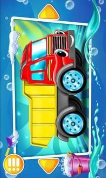洗车。截图