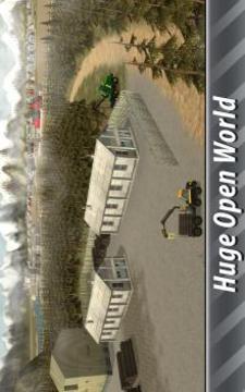 欧洲农场模拟器:林业截图