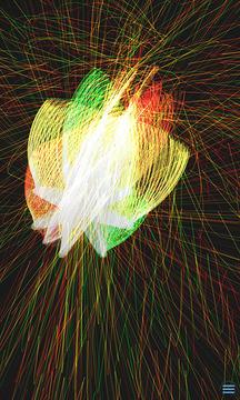 魔幻粒子极光星空截图