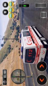 Ambulans Sürüş - 112 Acil Servis Simülatör 2018截图