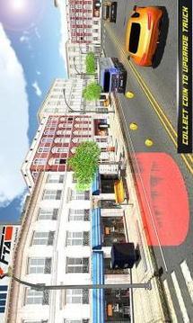 在卡车驾驶:公路路和越野轨道截图