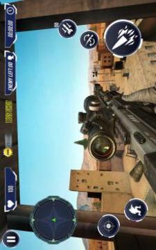 山狙击手 - 现代战斗狙击手游戏截图