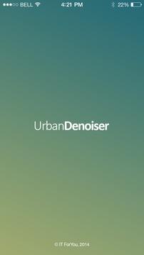 UrbanDenoiser Player截图