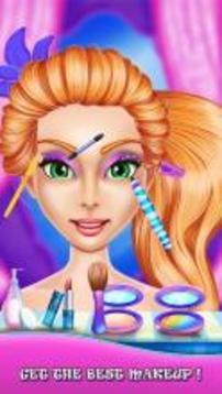 公主美容院:化妆美甲指甲温泉打扮王国改头换面样式口红面部护理指甲油装饰指甲剪时尚魔术游戏截图